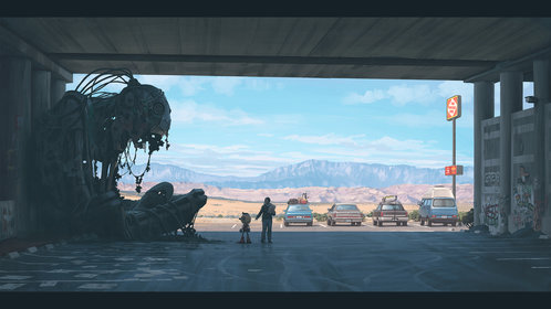 The Electric State — Simon Stålenhag