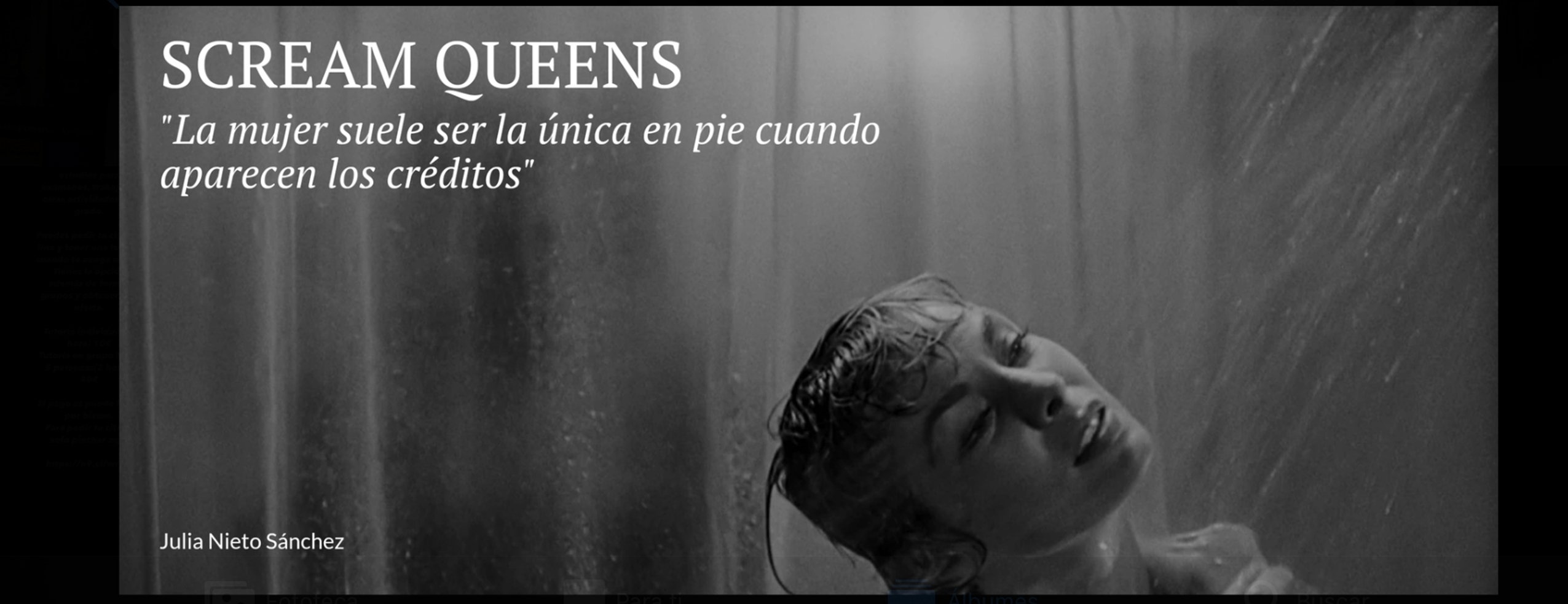 Scream Queens, Julia Nieto
